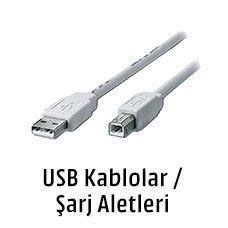 USB Kablolar/Şarj Aletleri