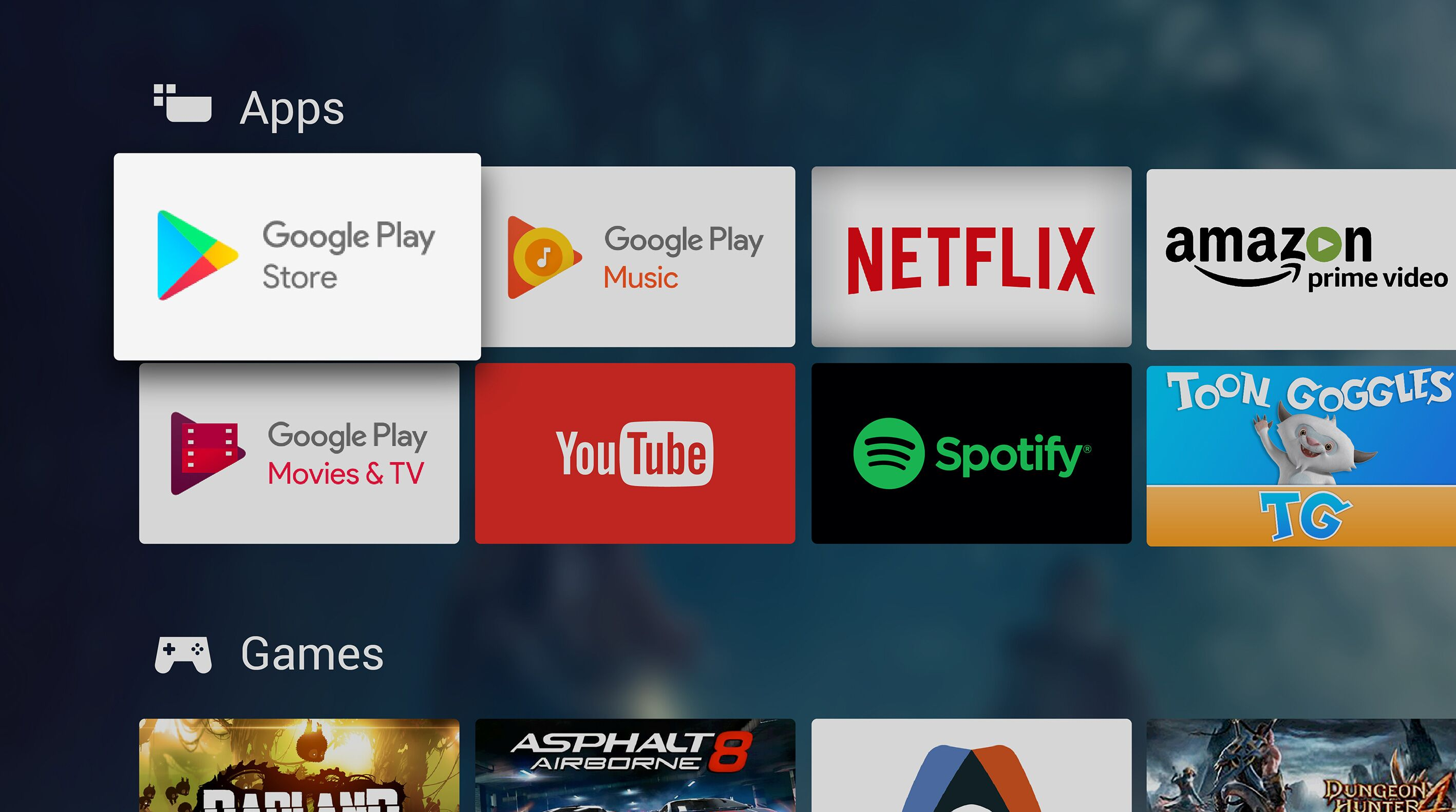 Philips OLED 903 Google Play Android TV