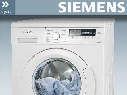 siemens iq500 wm14t420 isensoric waschmaschine a 1400 upm 7 kg wei varioperfect. Black Bedroom Furniture Sets. Home Design Ideas