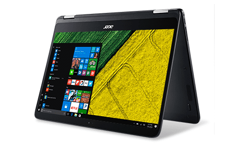 Acer 2-in-1 laptops