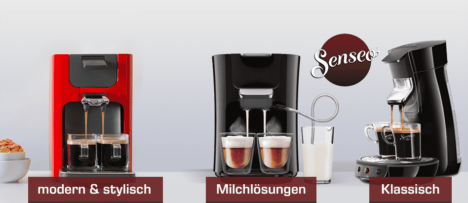 Kaffeepadmaschinen  Philips Senseo Kaffeepadmaschinen | SATURN.