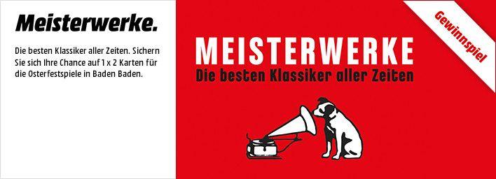 Jetzt Tickets Fur Die Osterfestspiele In Baden Bei Media Markt Gewinnen