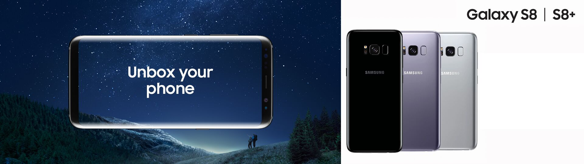 Samsung Galaxy S8 en Samsung Galaxy S8 Plus