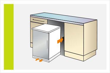 Siemens einbau k hlschrank kaufberater bei saturn for Arbeitsplatte unterbau