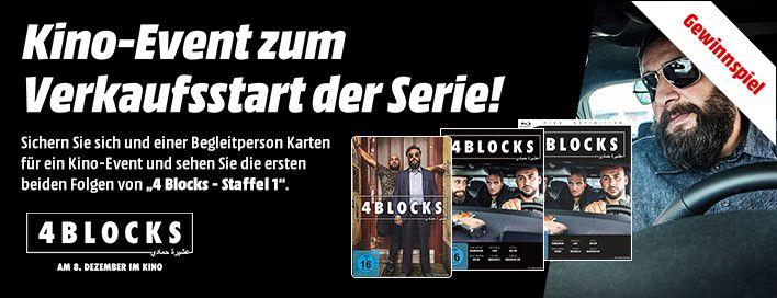 Jetzt Bei Media Markt Karten Fur Ein Kino Event Von 4 Blocks