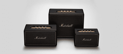 Marshall multiroom speakers