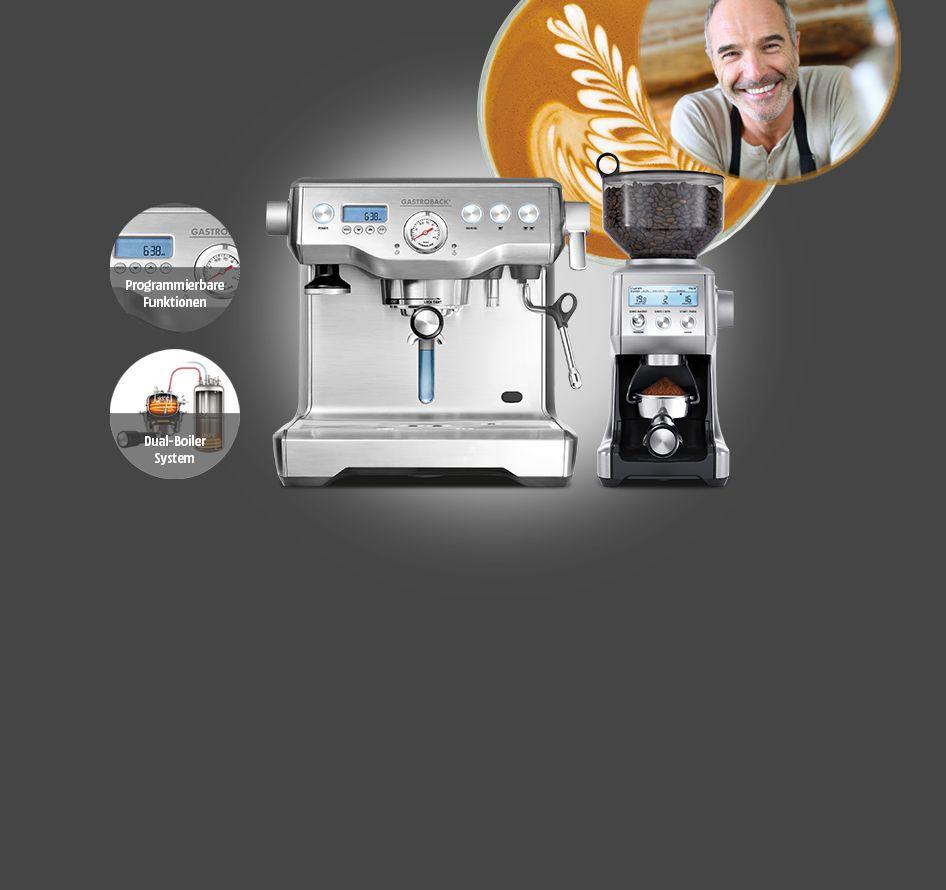 GASTROBACK Siebträgermaschinen: Vollendeter Espressogenuss | Media Markt