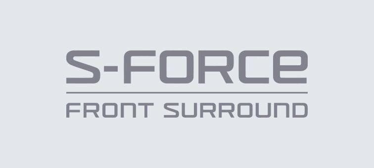 S-Force Front Surround wie im Kino