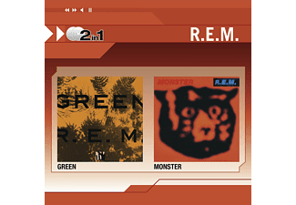 R.E.M. - GREEN/MONSTER (2IN1) [CD]