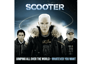 Scooter - Jumping All Over The World-Whatever You Want-Stan. [CD]