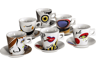 ZELLER 26506 Faces Cappuccino-Set