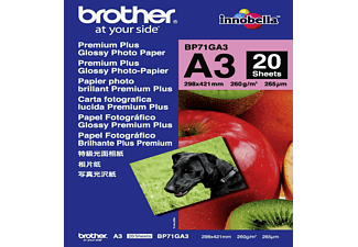 BROTHER BP71GA3 Fotopapier A3 260g (20 vel)