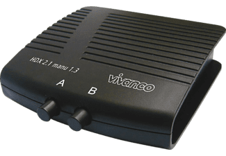 VIVANCO Video/audio-schakelaar - 2 x HDMI