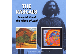 The Rascals - Peaceful World/ Island Of Real - (CD)