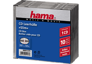 HAMA CD Slim Jewel Case Pack