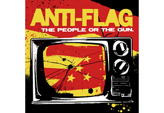 The Flag, Anti-Flag - The People Or The Gun - (CD)