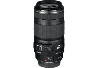 CANON EF 70-300mm F4,0-5,6 IS USM 70 mm-300 mm Objektiv f/4-5.6 IS, USM, System: Canon EF, Bildstabilisator, Schwarz
