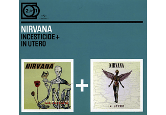 Nirvana 2 for 1: Incesticide/in Utero Rock CD