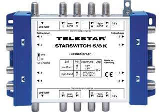 TELESTAR 5222521 Starswitch 5/8K Multischalter