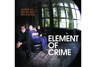 Element Of Crime - Immer da wo du bist bin ich nie [CD]