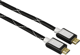 HAMA High Speed 1,5 m Nylon HDMI-Kabel