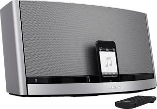 bose 049607 dockingstation sounddock 10 bluetooth zilver docking station. Black Bedroom Furniture Sets. Home Design Ideas