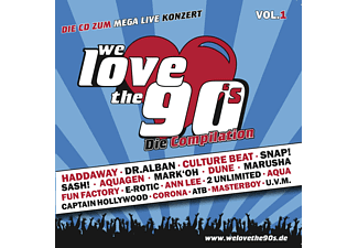VARIOUS - We Love The 90's [CD]