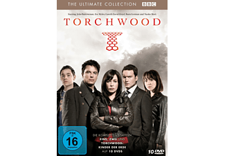 Torchwood - Staffel 1-2 + Kinder der Erde [DVD]