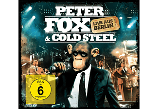 Peter & Cold Steel Fox - Live Aus Berlin - (CD + DVD Video)
