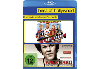 Ricky Bobby - König der Rennfahrer / Walk Hard - Die Dewey Cox Story (Best Of Hollywood) [Blu-ray]