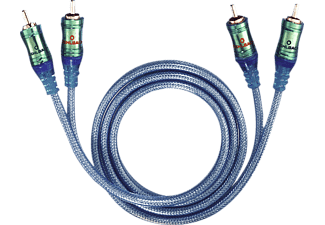 OEHLBACH 92023 NF Set Ice Blue 0.5m, Cinch-Kabel, 500 mm, Transparent