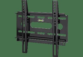 hama tv wandhalterung fix ultraslim m schwarz decken wandhalterungen mediamarkt. Black Bedroom Furniture Sets. Home Design Ideas