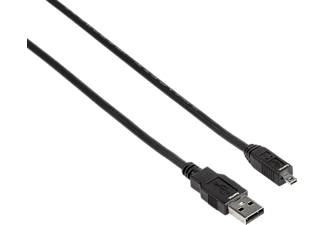 HAMA A-Stecker - Mini-B-St. (B8 Pin) 1,8 m USB-Kabel