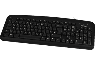 HAMA 57209 K212 BASIC KEYBOARD BLACK USB