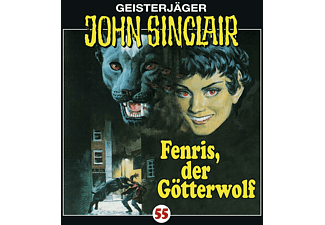 John Sinclair 55: Fenris, Der Götterwolf - (CD)