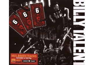 Billy Talent - 666 Live - (CD + DVD Video)