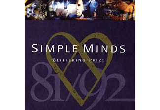 Simple Minds BEST OF GLITTERING PRIZE Pop CD