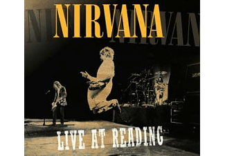 Nirvana LIVE AT READING Rock CD