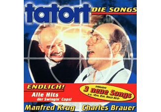 Krug, Manfred / Brauer, Charles - Tatort-Die Songs (New Edition) [CD]