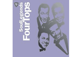 The Four Tops - SOUL LEGENDS - FOUR TOPS [CD]