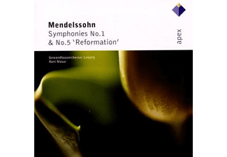 Gewandhausorchester - Sinfonien 1+5 [CD]