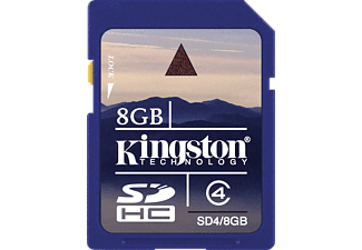 KINGSTON SD4/8GB Consumer SDHC Class 4 Card