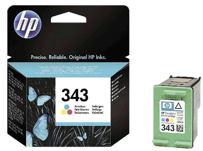 HEWLETT PACKARD 343 Tri-colour Cartridge - (C8766EE) laptop  tablet  computing  εκτύπωση   μελάνια μελάνια  toner