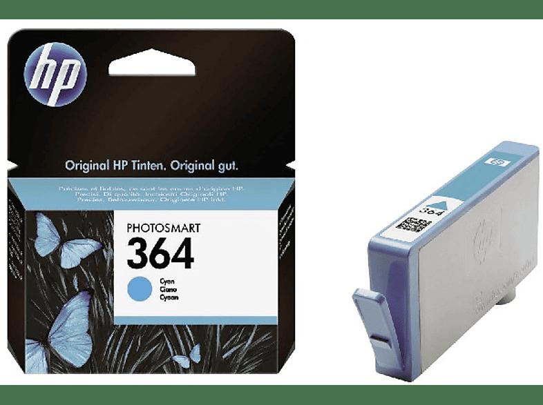 HEWLETT PACKARD HP364 Cyan - (CB318E) laptop  tablet  computing  εκτύπωση   μελάνια μελάνια  toner