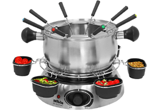 silva fo 840 wok fondue set fondue wok online kaufen bei. Black Bedroom Furniture Sets. Home Design Ideas