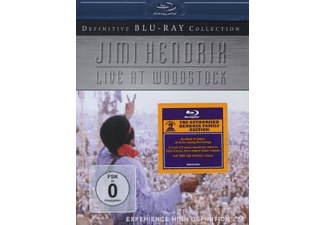 Jimi Hendrix Live At Woodstock Rock Blu-ray