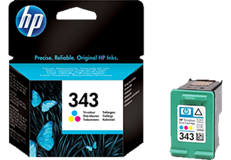 HP 343 Inktcartridge Multikleur