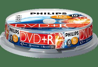 PHILIPS DVD+R 16X CB (10)