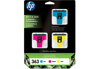 HP 363 3er Pack Colour CB333EE