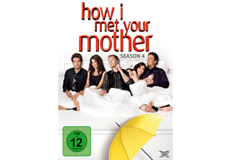 How I Met Your Mother - 4. Staffel Komödie DVD